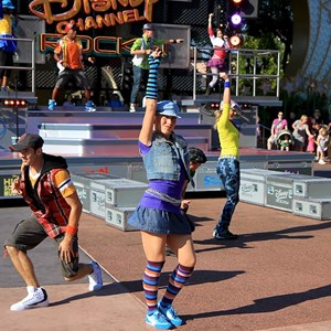 5 of 50: Disney Channel Rocks! - Opening day first performance