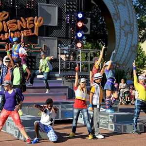 7 of 50: Disney Channel Rocks! - Opening day first performance