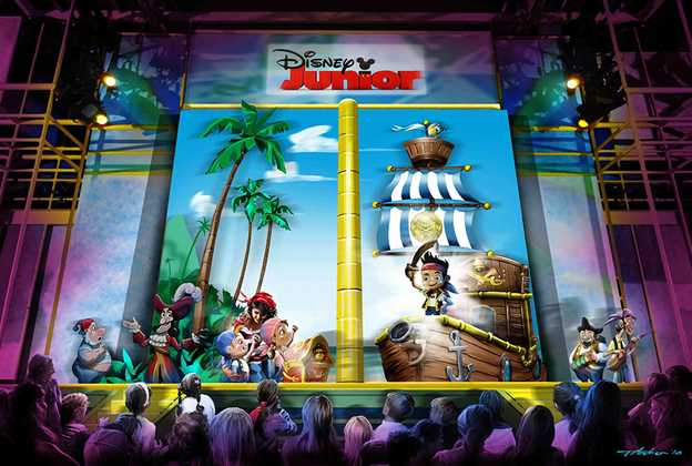 Disney Junior - Live on Stage! concept art
