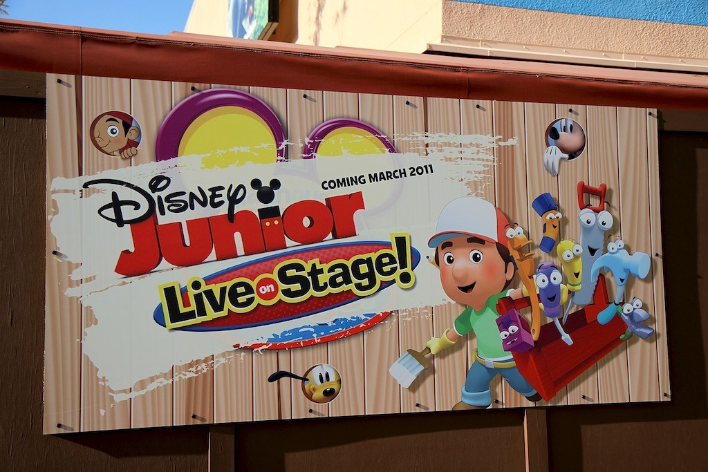 Disney Junior - Live on Stage! pre opening exterior