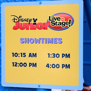 3 of 6: Disney Junior - Live on Stage! - Soft openings