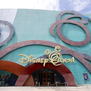 3 of 5: Disney Quest - Disney Quest exterior refurbishment