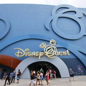 5 of 6: Disney Quest - Disney Quest exterior refurbishment