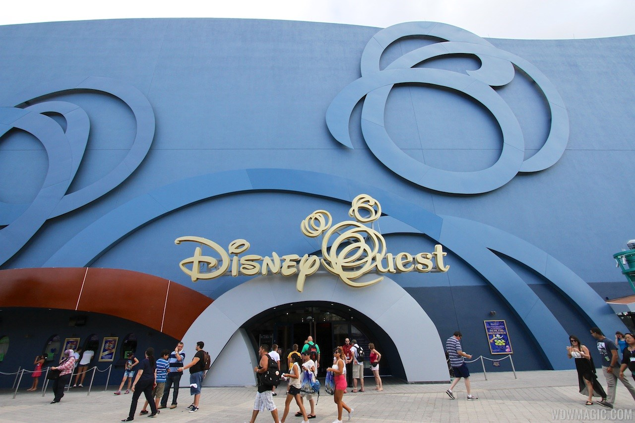 Disney Quest exterior refurbishment