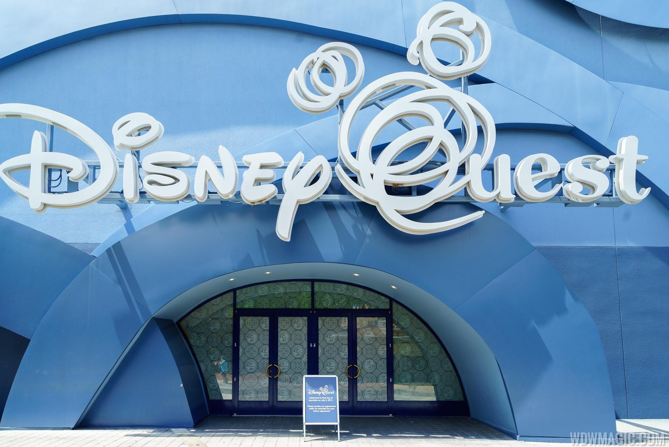 Closed Disney Quest