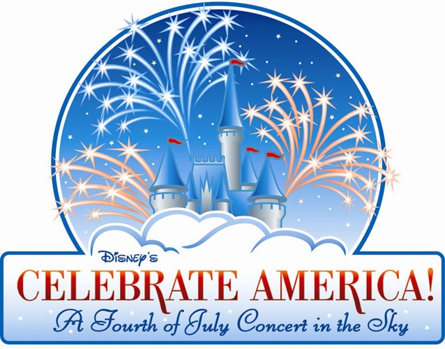 Disney's Celebrate America! - A Fourth of July Concert in the Sky - Disney's Celebrate America! - A Fourth of July Concert in the Sky logo. Copyright 2009 The Walt Disney Company.