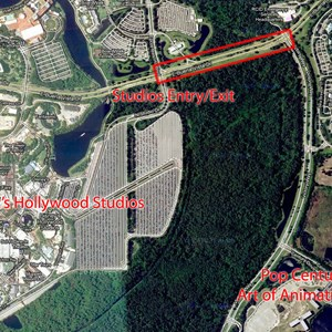 1 of 1: Disney's Hollywood Studios - Road-widening project