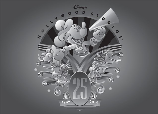 Disney's Hollywood Studios - Disney's Hollywood Studios 25th anniversary merchandise - Logo