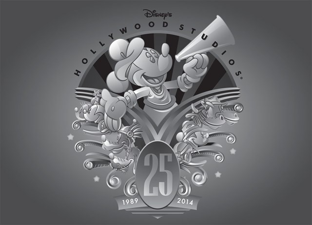 Disney's Hollywood Studios 25th anniversary merchandise - Logo