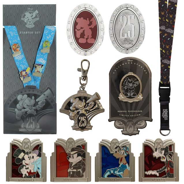 Disney's Hollywood Studios - Disney's Hollywood Studios 25th anniversary merchandise - Key chains