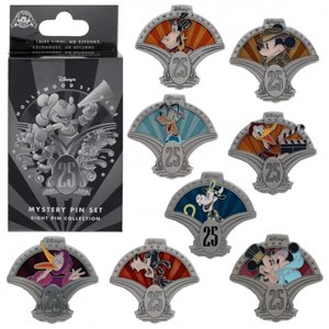 5 of 5: Disney's Hollywood Studios - Disney's Hollywood Studios 25th anniversary merchandise - Pins