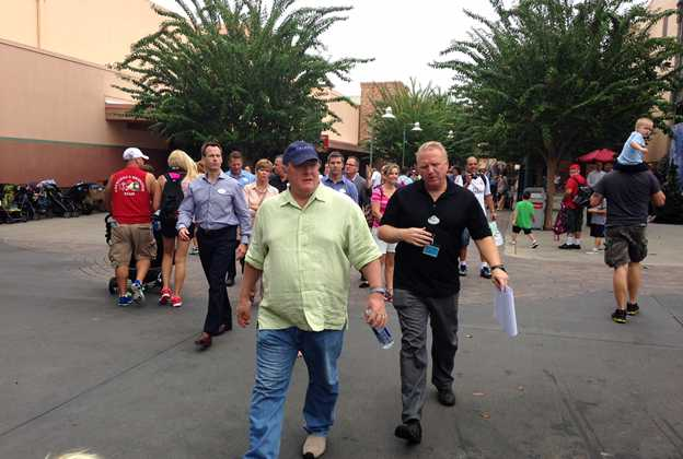 WDI execs at Disney's Hollywood Studios