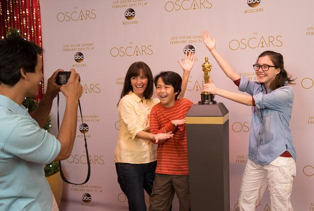 Pose with an Oscar