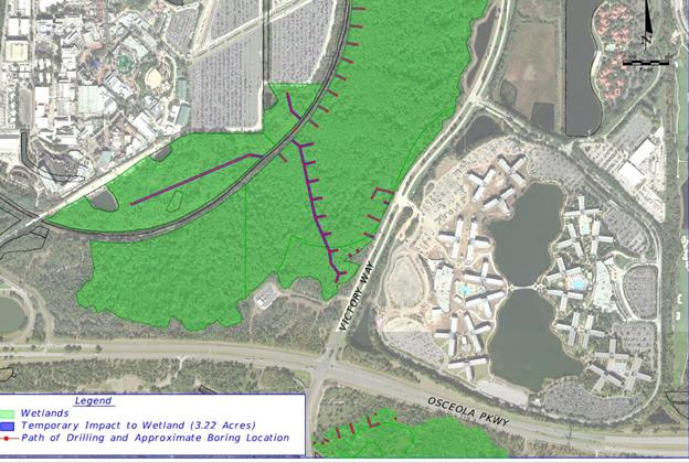 New Walt Disney World roadway plans