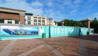 PHOTOS - Cleared backlot changes the skyline at Disney's Hollywood Studios
