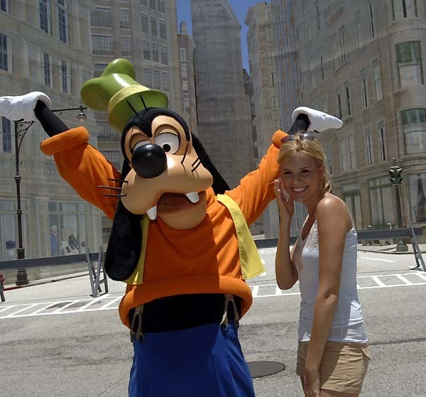 Actress Maggie Grace at Disney-MGM Studios