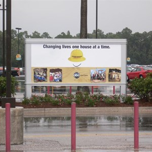1 of 3: Disney's Hollywood Studios - New Movie and TV billboards in the Studios parking lot
