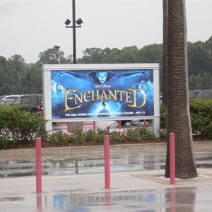 2 of 3: Disney's Hollywood Studios - New Movie and TV billboards in the Studios parking lot