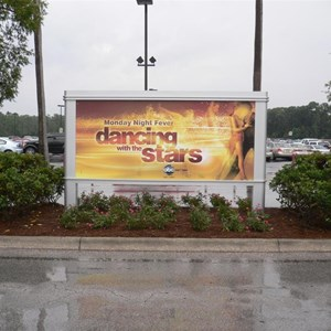 3 of 3: Disney's Hollywood Studios - New Movie and TV billboards in the Studios parking lot