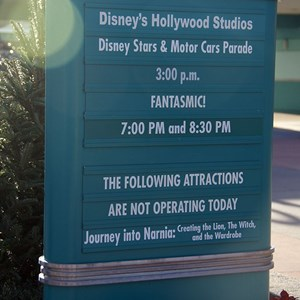 5 of 11: Disney's Hollywood Studios - Disney's Hollywood Studios renaming day
