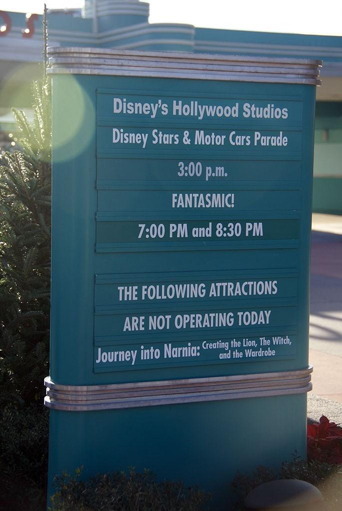 Disney's Hollywood Studios renaming day