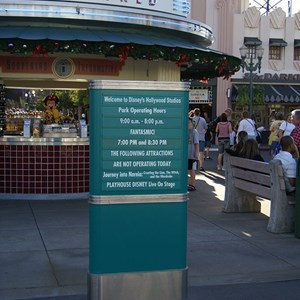 7 of 11: Disney's Hollywood Studios - Disney's Hollywood Studios renaming day