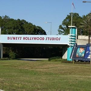 1 of 2: Disney's Hollywood Studios - Disney's Hollywood Studios temporary main entry signage