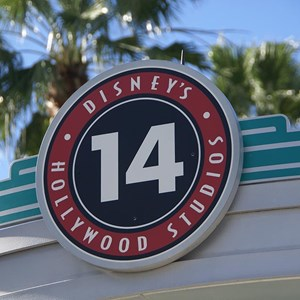 1 of 1: Disney's Hollywood Studios - Disney's Hollywood studios signage update in parking lots