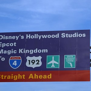 2 of 6: Disney's Hollywood Studios - Disney's Hollywood Studios road signs appearing all over property