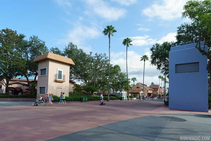 PHOTOS - Updated look at the projection tower improvements at Disney's Hollywood Studios