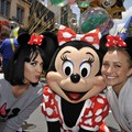 Disney's Hollywood Studios - Singer/songwriter Katy Perry (left) and actress Hayden Panettiere (right) with Minnie Mouse at Disney's Hollywood Studios on April 25, 2009. Copyright 2009 The Walt Disney Company.