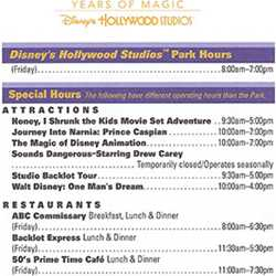 Disney's Hollywood Studios 20th birthday