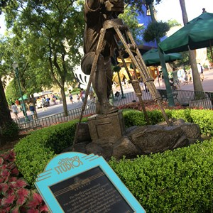 2 of 2: Disney's Hollywood Studios - Disney's Hollywood Studios dedication plaque