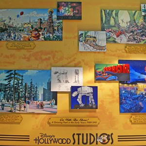 2 of 4: Disney's Hollywood Studios - A growing park in the early years 1989 - 1991