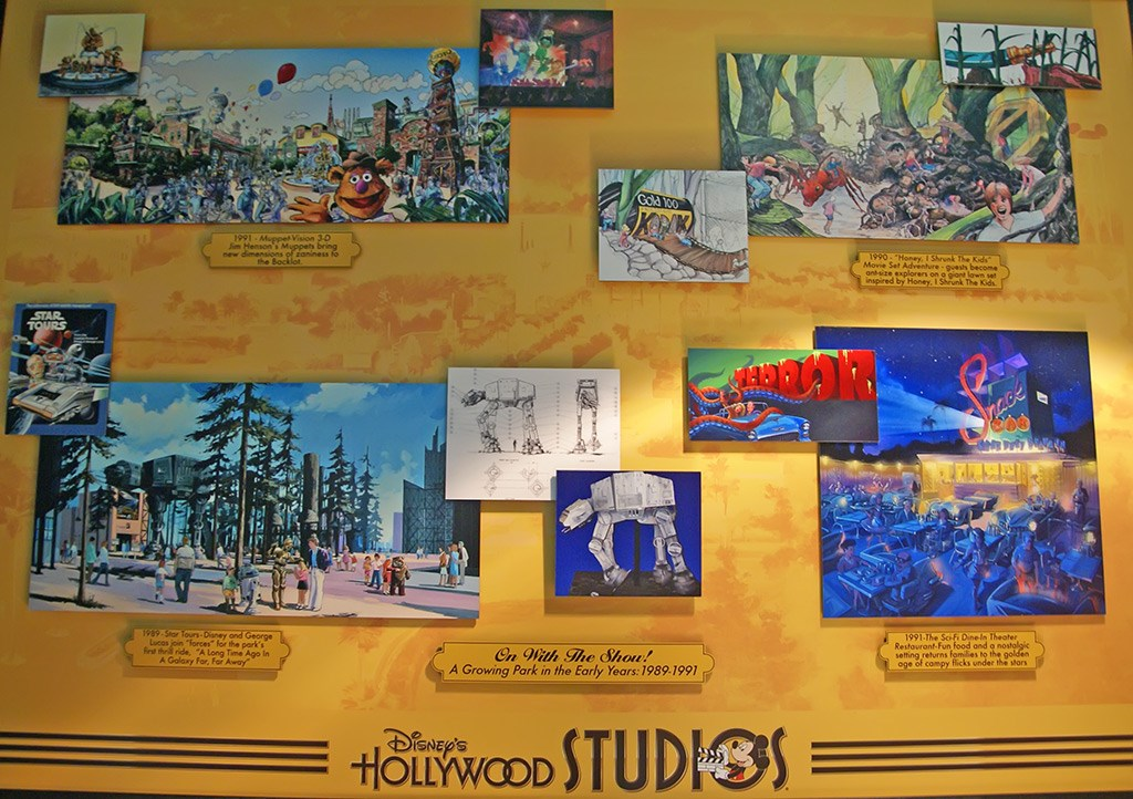 Disney's Hollywood Studios concept art