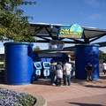 Disney's Kim Possible World Showcase Adventure - Another one of the stations where you can sign up for the adventure.