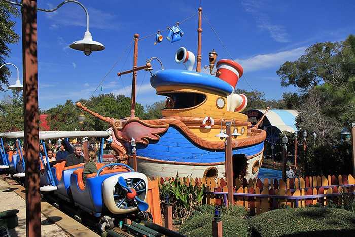 Donald's Boat