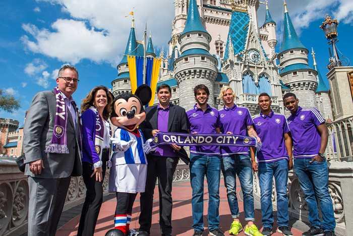 Walt Disney World Resort and Orlando City Soccer Club sponsorship