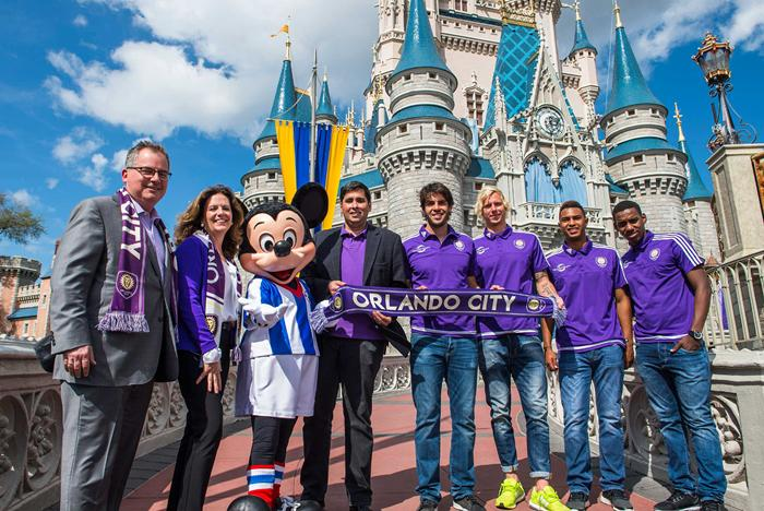 Walt Disney World Resort and Orlando City Soccer Club sponsorship