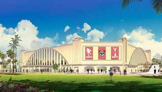 PHOTO - Disney releases concept art for new 8000 seater cheer and dance venue at ESPN Wide World of Sports