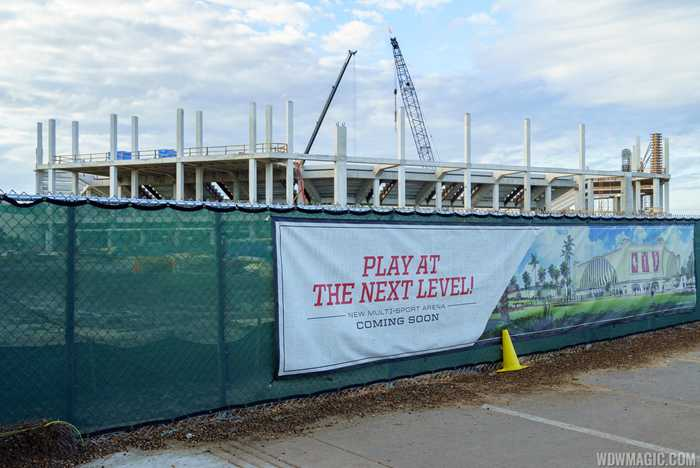 ESPN Wide World of Sports cheer and dance venue construction