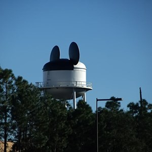 2 of 3: Earffel Tower - A white Earffel Tower