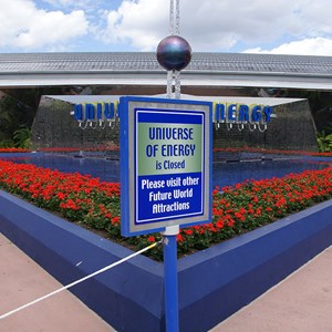 1 of 1: Ellen's Energy Adventure - Ellen's Energy Adventure closed for refurbishment