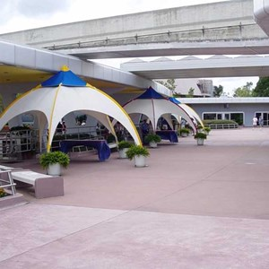 1 of 1: Epcot - New security tents