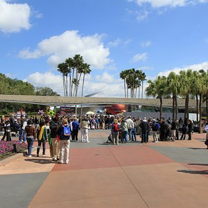 1 of 2: Epcot - Monorail beam refurbishment - Future World East