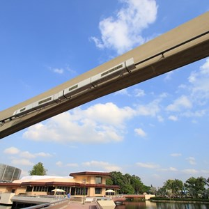 3 of 4: Epcot - Monorail beam refurbishment