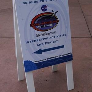15 of 18: Epcot - NASA Space Day