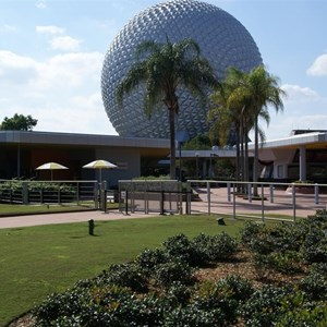 1 of 4: Epcot - New entry area fence