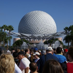2 of 44: Epcot - 25th Anniversary