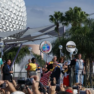 10 of 44: Epcot - 25th Anniversary